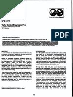 Water Control Diagnostic Plots