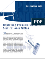 Ing Premium SIP Voice Services Over WiMAX An