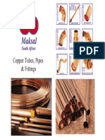Maksal Copper Pipes Catalog