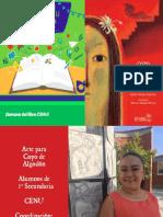 Arte Para Copo de Algodón en el CENU de San Miguel de Allende
