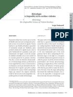 Heterología La ciencia (imposible) de los residuos violentos