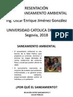 Presentación SANEAMIENTO AMBIENTAL