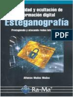 Privacidad y Ocultación de Información Digital Esteganografia