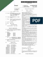 U.S. Pat. 9,095,554, Speciality Cannabis, Aug. 4, 2015.