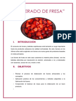 Macerado de Fresa