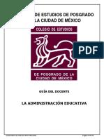 Guia Del Estudiante Materia Administración Educativa