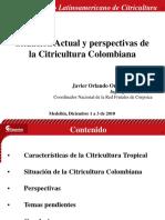biblioteca_75_Situación Actual y perspectivas de la Citricultura Colombiana.ppt