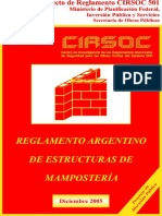 Cirsoc 501-Mamposteria