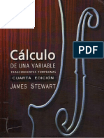 Calculo de Una Variable - 4ta Edicion - James Stewart