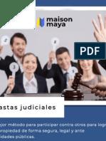 Lista de Remates Judiciales En México