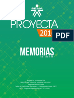 Proyecta2018 Memorias Edicion III Con Código ISSN