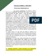 DEONTOLOGIA JURIDICA - RESUMEN