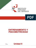 Entrenamiento Deportivo y Psicomotricidad_Presentación__Unidad II