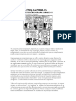 Texto Nº 21 La Ética Kantiana Para Grado 11