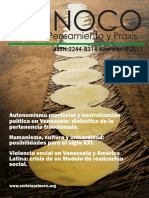 Orinoco Pensamiento y Praxis Ano 05 Nro 08 (Enero Junio 2017)