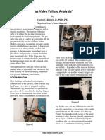 Gas Valve Failure Analysis