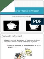 Tipo de Interes y Tasa de Inflación