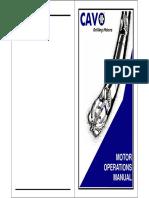 Motor Operations Manual