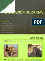 Excavación de Zanjas