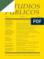 Revista Estudios Publicos 149