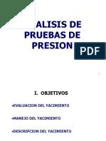 Capítulo 1 - Análisis Prueba de Presión