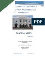 Analisis Teatro Capitol