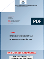 LINGUISTICA Y SU DESARROLLO