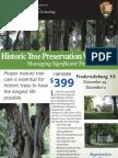 2010 Historic Tree Preservation Workshop