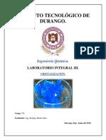 Practica Cristalizacion 1