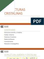 EstructurasCristalinas Presentacion PDF