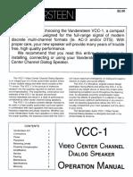 Vandersteen Canal Central VCC-1