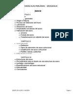 Monografia en Acero y Madera