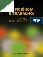 Livro Deficiencia e Trabalho