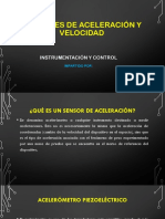 Sensores de Aceleración y Velocidad