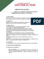 Directiva Nº 001-2018 Lima Upp