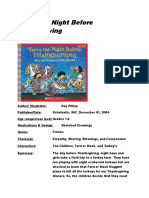 twas the night before thanksgiving-cover sheet