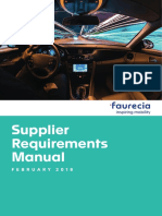 Fau-c-spg-4030 Supplier Requirements Manual 2018
