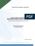 Manual de Nyp de Adquisicion de Bienes y Servicios