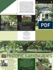 Historic Landscapes Brochure
