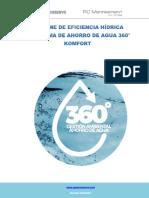 Komfort Informe de Implementación de Programa de Eficiencia Hídrica (2)