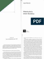 SABORIDO - Historia de La Unión Soviética, Caps. 2, 3 y 4