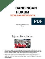 1 Perbandingan Hukum Teori Dan Metode