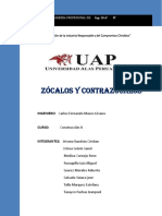 Informe Zocalos y Contrazocalos
