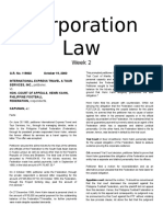 Corporation Law Cases Wk2
