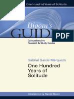 [Harold Bloom] Gabriel Garcia Marquez's One Hundre