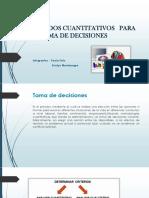Metodos Cuantitativos Para La Toma de Decisiones
