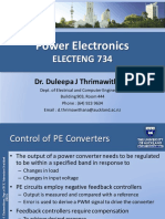 Power Electronics ELECTENG 734