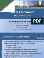 Power Electronics ELECTENG 734