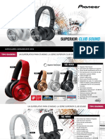 Pioneer Headphones 2015-2016 Es