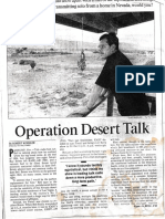 Art Bell Operation Desert Talk - LA Times 1-13-96